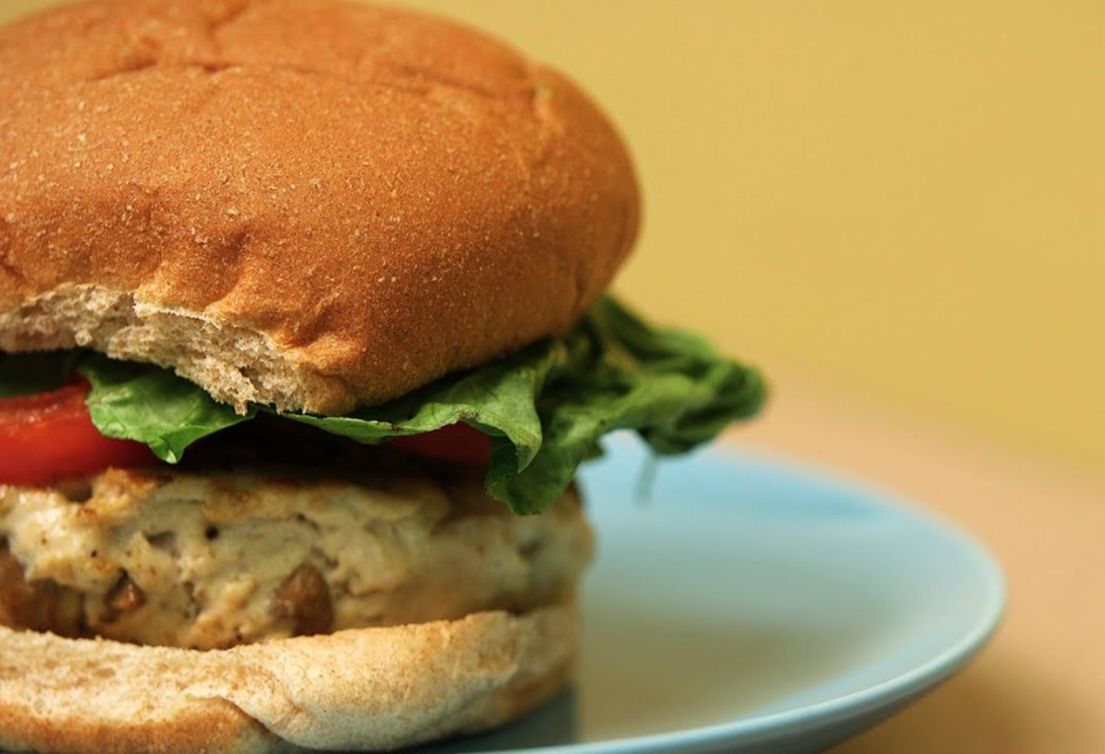 One taste of our tantalizing turkey burger mixed with mushrooms, and you won't even miss the beef! |