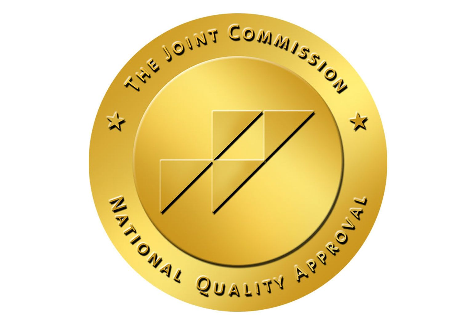 An image of the Joint Commission's National Quality Approval gold seal.