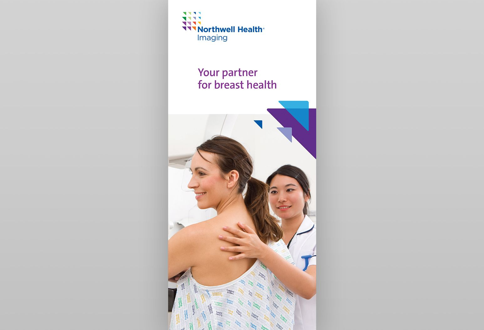 Cover of the brochure to learn more about breast health at Northwell Health.
