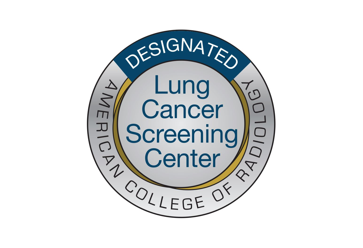 Badge for the ACR Lung Cancer Screening Centers