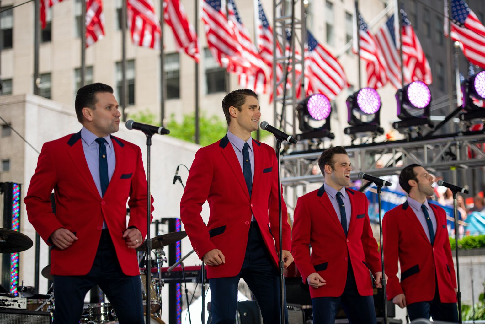A performance of Jersey Boys