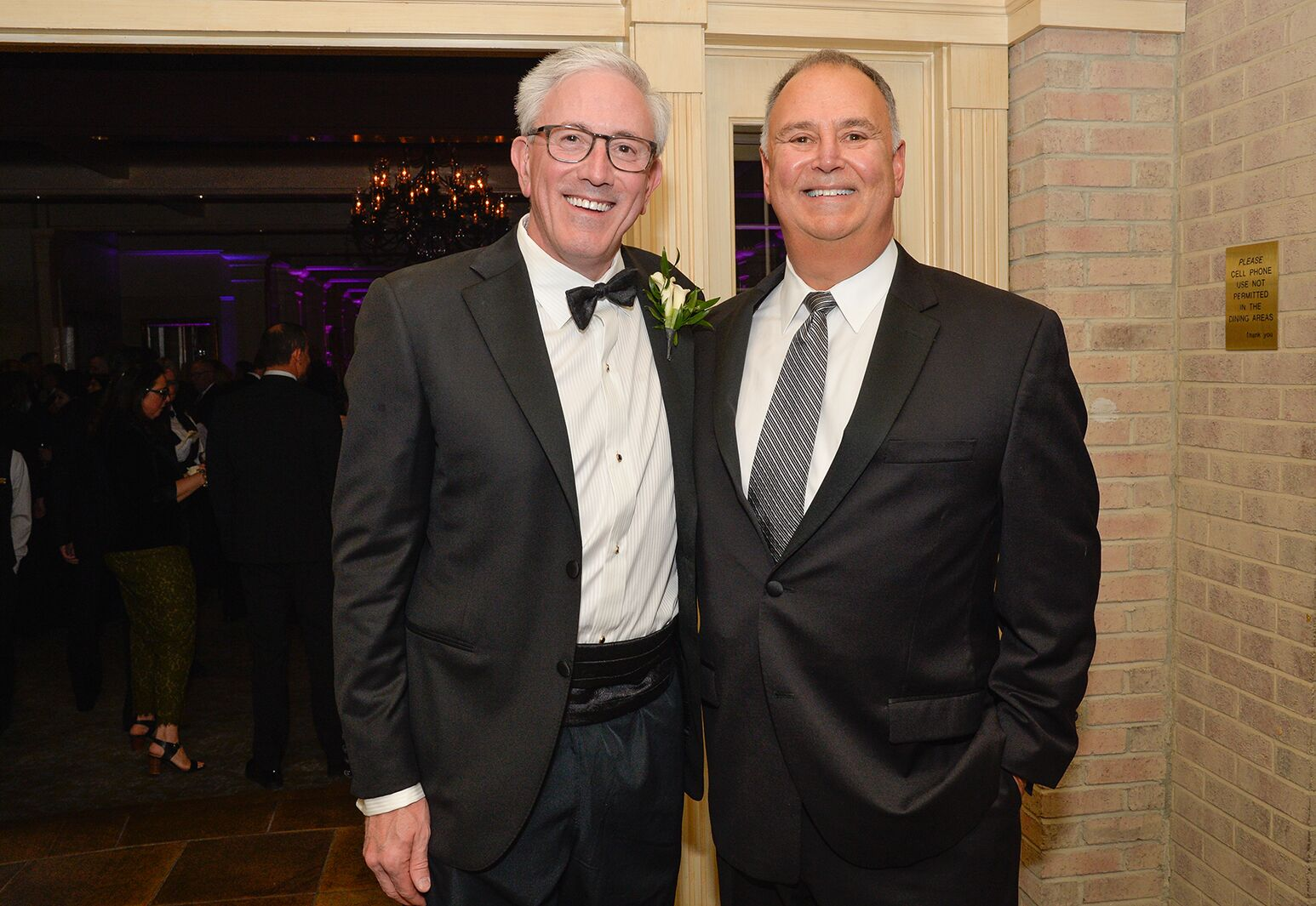 Dr. James Romanelli and Huntington Hospital Board Chairman Keith Friedlander at the 2018 Huntington Hospital Gala.