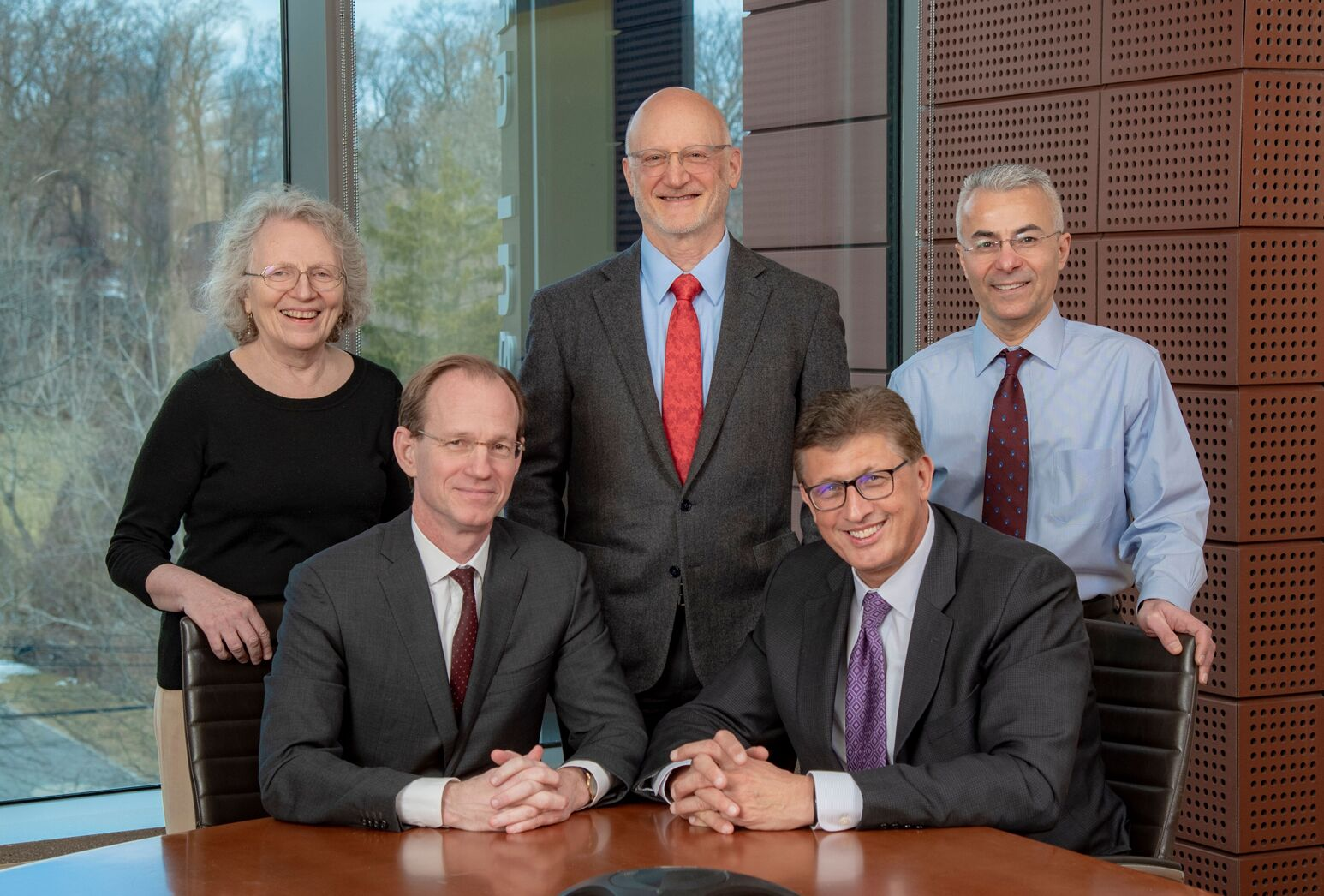 Our five institutes are led by Betty Diamond, MD; Tom McGinn, MD; John Kane, MD; Richard Barakat, MD; and Yousef Al Abed, PhD.
