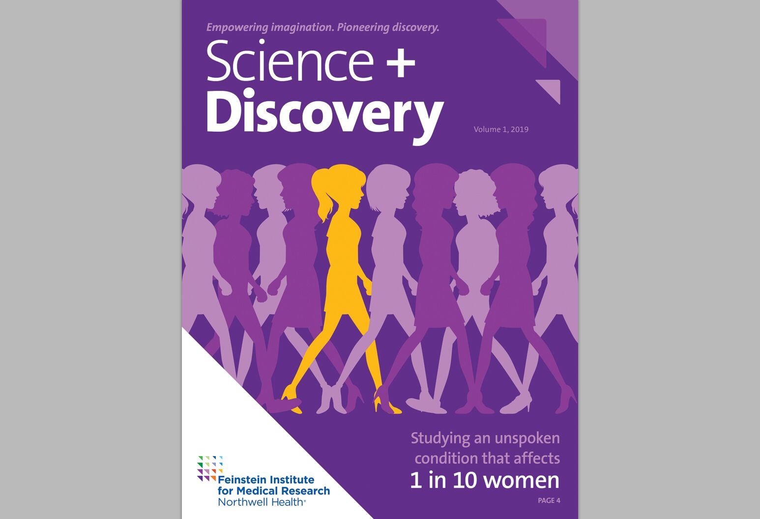 Cover of Science and Discovery, volume 1, 2019