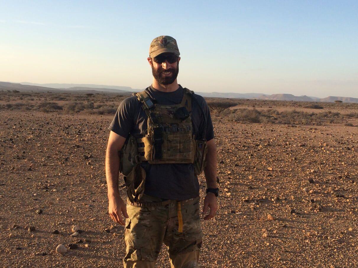 Michael Zacchilli, MD, in Afghanistan
