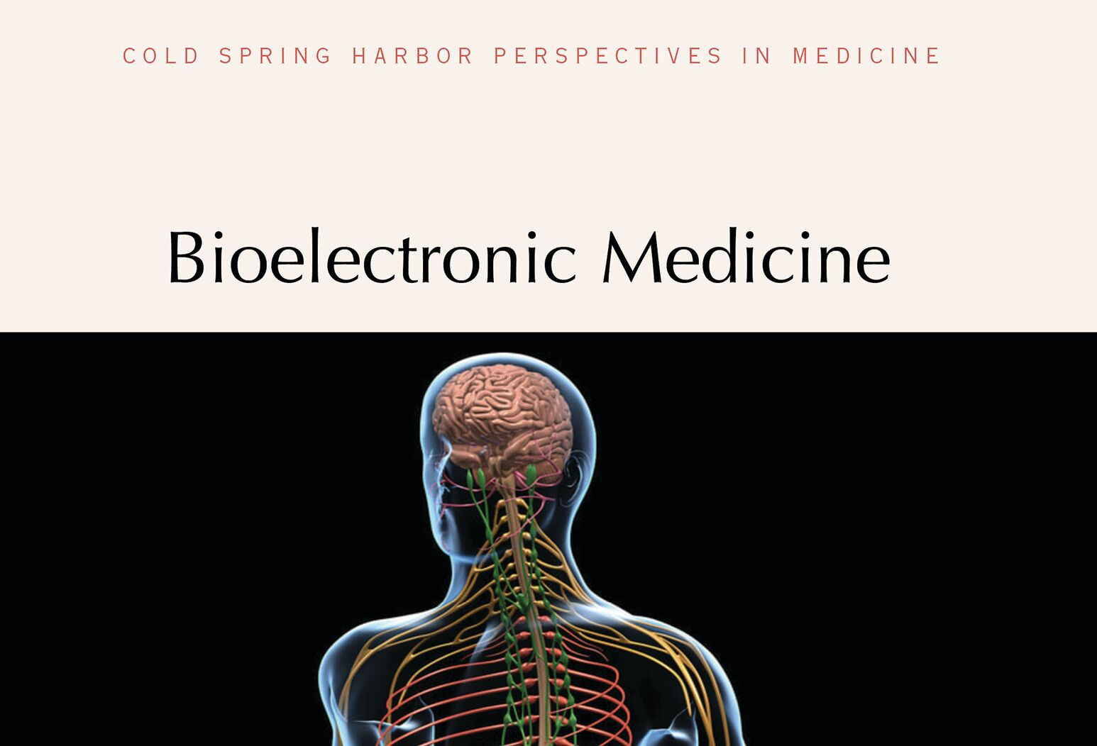 The cover of Kevin Tracey's new book on bioelectronic medicine