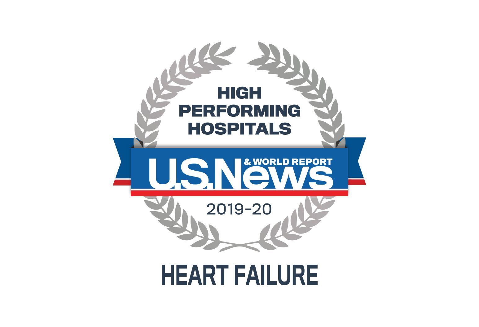 US News & World Report badges-Procedures and Conditions-high performing indicator