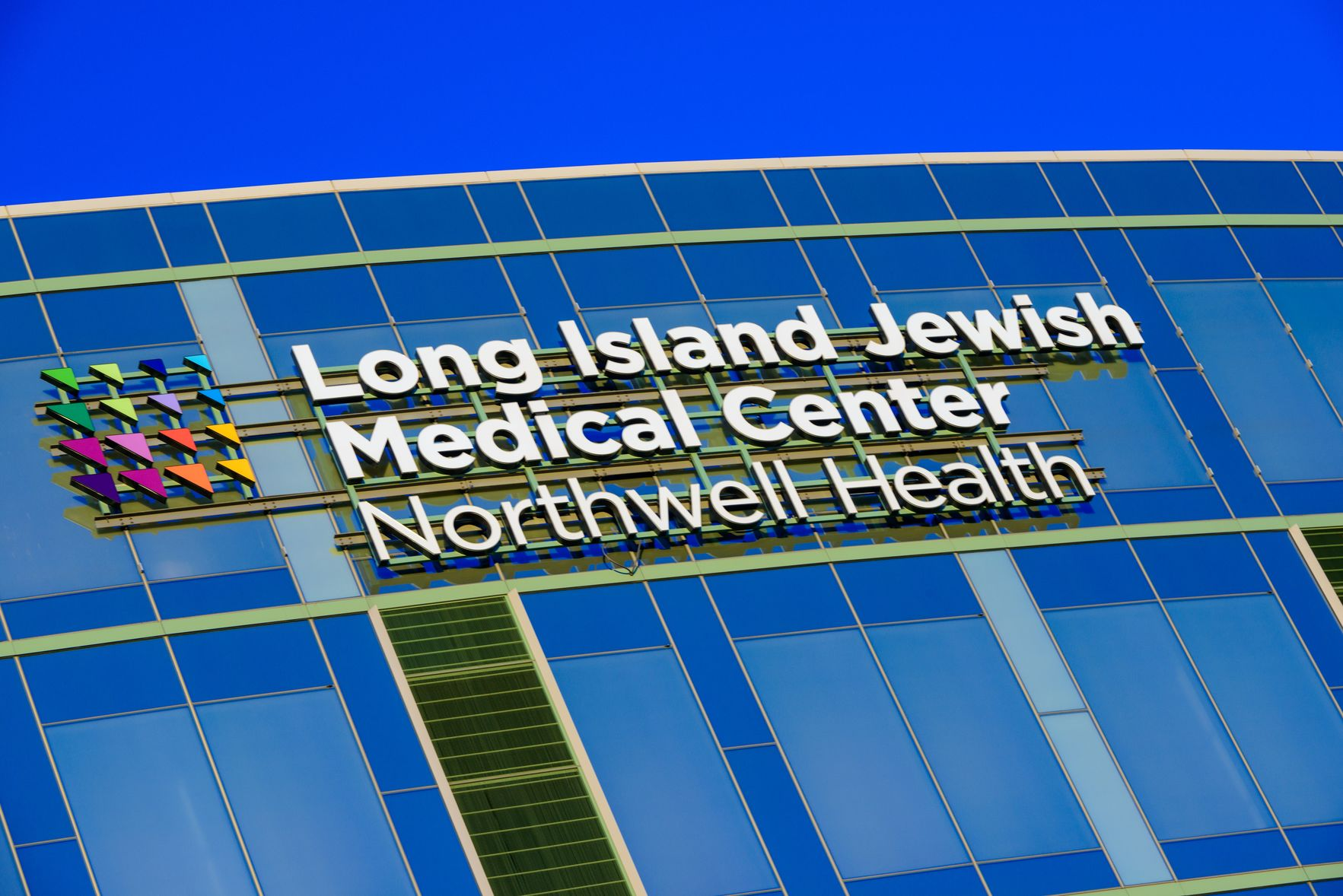 An external image of Long Island Jewish Medical Center