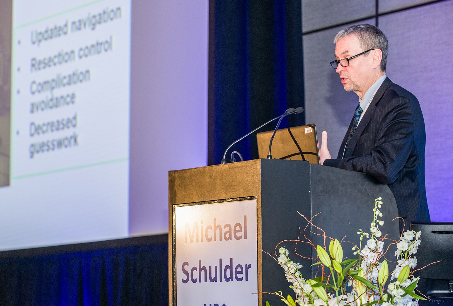 Dr. Michael Schulder spoke at the 18th biennial World Society for Stereotactic and Functional Neurosurgery meeting.