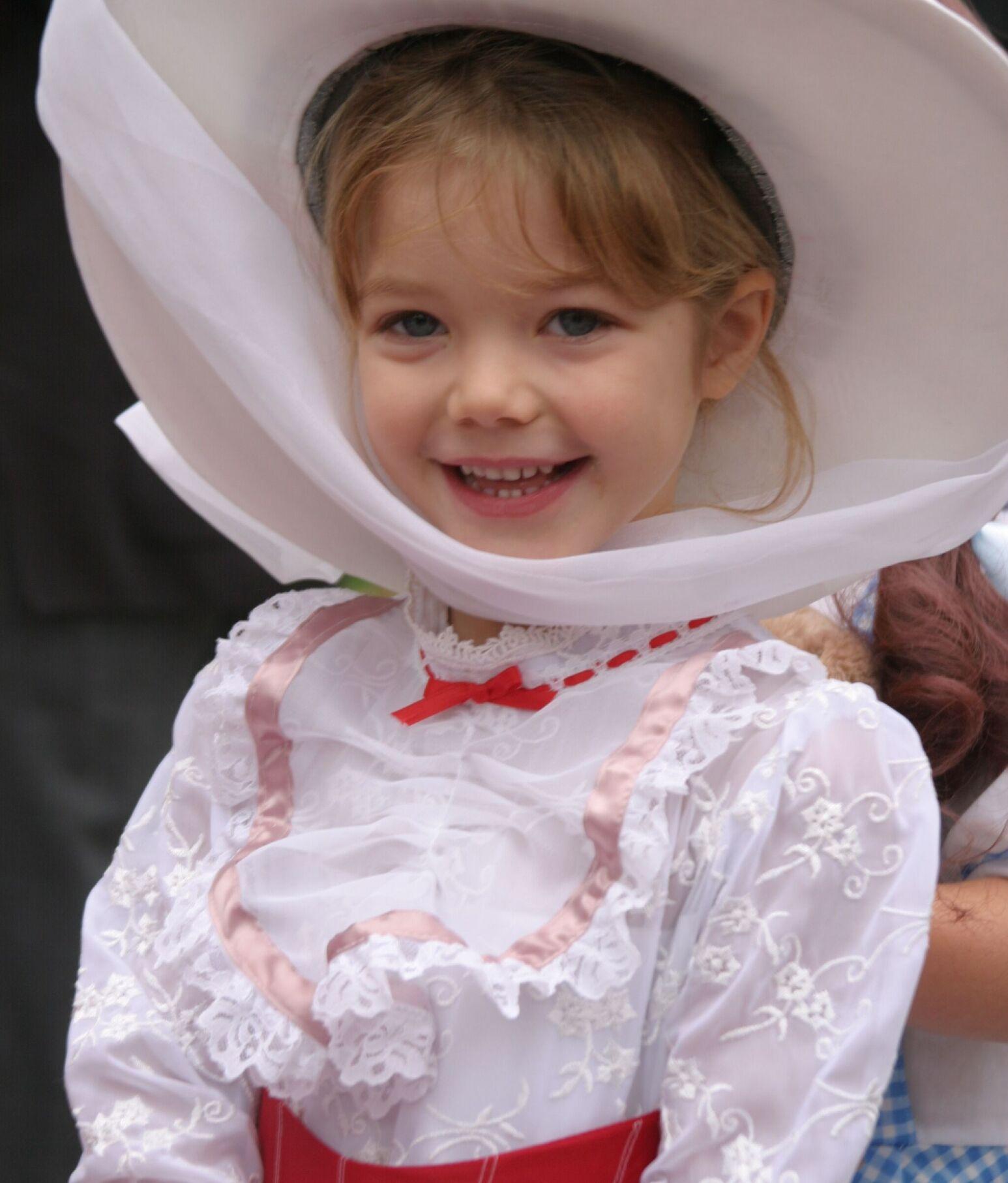 Childhood photo of Annika