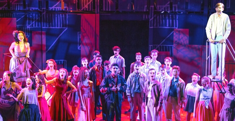 Robert Henderson - West Side Story - South London Youth Theatre - London 1