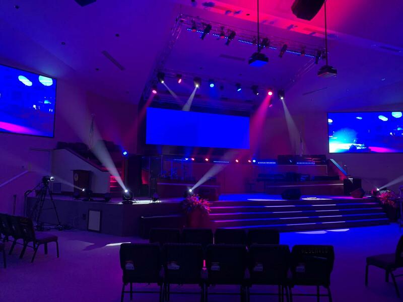 Tabernacle of Praise Church International - Ovation E-190 5
