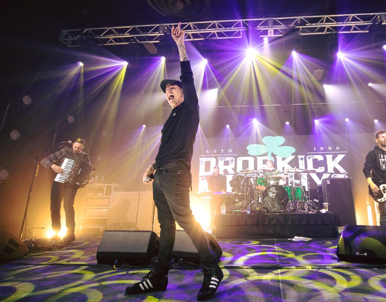 Brian Lareau - Dropkick Murphys St. Patrick's Day Show - Boston 2