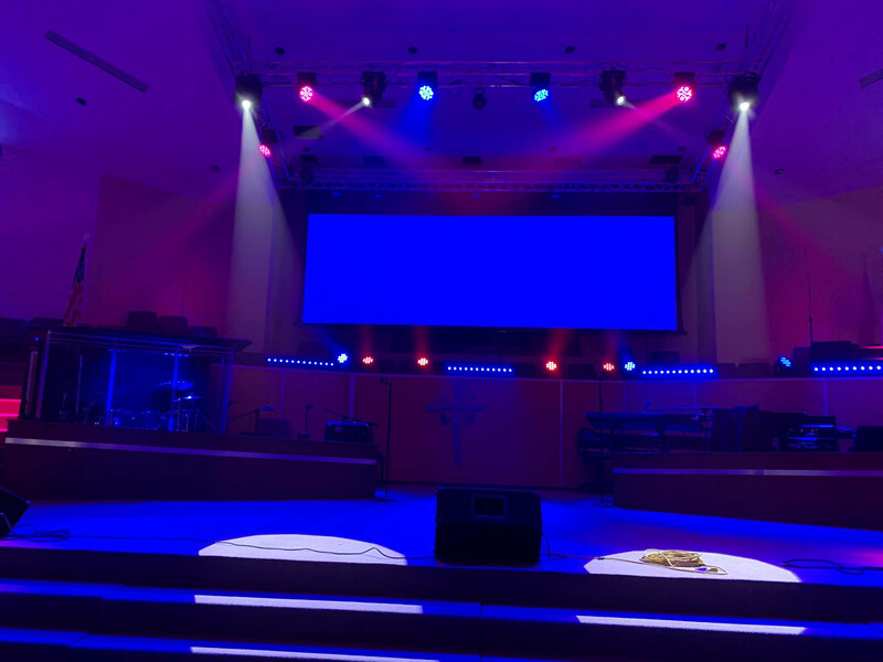 Tabernacle of Praise Church International - Ovation E-190 3