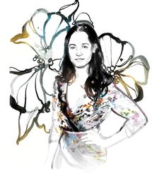 Floral Dress Fashion & Jewellery