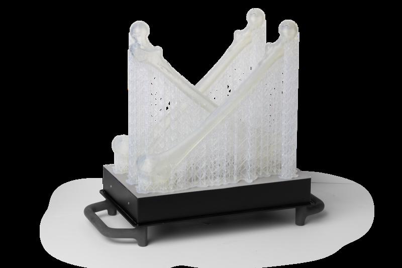 Стандартные смолы Formlabs. Медицинская модель Clear Resin на платформе Form 3L