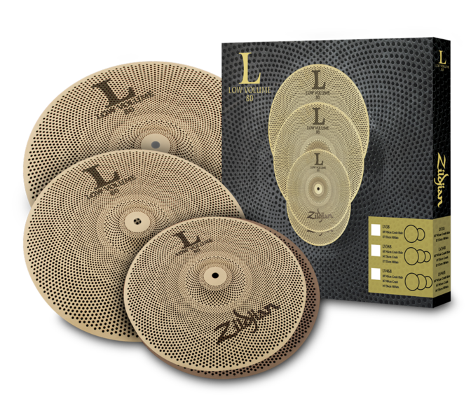 LV468 L80 Low Volume Cymbal Pack
