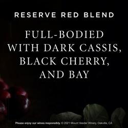 Mount Veeder Winery Reserve EdPi Image - Tasting Note