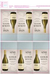 SIMI 2019 Sonoma County Chardonnay Shelf Talker 2021 San Francisco Chronicle Wine Competition Gold