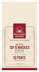 Belle Meade Reserve Boubon Holiday FY21 Shelf Talker