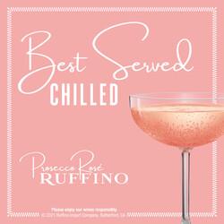 Ruffino Prosecco Rose 750ml Bottle, 187ml 3-Pack Bottles EdPi Image - Best Served
