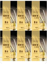 Robert Mondavi Private Selection Buttery Chardonnay 1.5L Box Holiday FY22 6 Up Shelf Talker