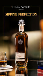 Casa Noble Sipping Perfection Instagram Story Digital Banner - No CTA - 1080x1920 - For Online Use Only - Not for print or paid media