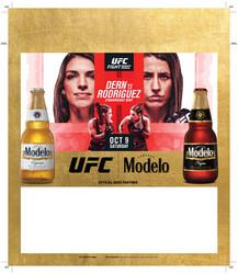 Modelo UFC Fight Night- Dern Vs Rodriguez Bottle Tuckcard Template
