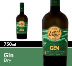 Copper & Kings American Dry Gin 750 mL Bottle COPHI