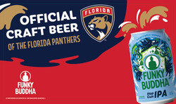 Funky Buddha - Panthers - HG Can - Banner Stand