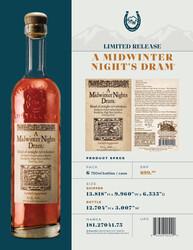High West Distillery A Mindwinter Nights Dram Product Tech Sheet