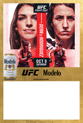Modelo UFC Fight Night- Dern Vs Rodriguez Can Poster Template