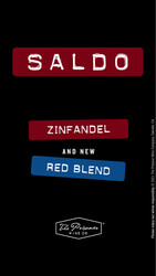 Saldo Zinfandel, Red Blend Holiday FY22 Instagram Story Digital Banner - No CTA - 1080x1920 - For Online Use Only, Not for print or paid media