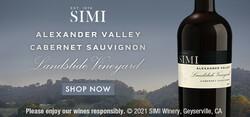 2018 SIMI Alexander Valley Landslide Cabernet Sauvignon Summer FY22 Large Digital Banner - Shop Now CTA - 320x150 - Online Use Only, Not for print