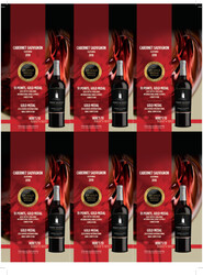 Robert Mondavi Private Selection 2018 Cabernet Sauvignon Holiday FY22 2020 Critics Challenge International Wine & Spirits Competition 91 Points, Gold Medal 2020 Denver International Wine Competition Gold Medal 6 Up Shelf Talker