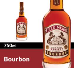 Belle Meade Bourbon Whiskey 750ml Bottle COPHI