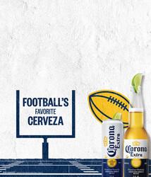 2021 Corona Extra Football Flow - Tuck Card (English)