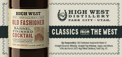High West BFC Large Digital Banner - No CTA – 320x150 - For Online Use Only - Not for print or paid media