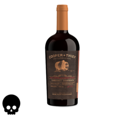 Cooper and Thief Rye Whiskey Barrel Aged Cabernet Sauvignon 750ml Bottle Halloween No Text Icon COPHI - Temporary Image