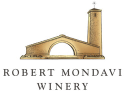 Robert Mondavi Winery Logo - Stacked Gold, Black