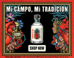 Mi CAMPO Day of the Dead Digital Banner - Shop Now CTA - 320x250 - For Online Use Only - Not for print or paid media