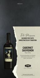 The Prisoner Summer FY22 Cabernet Sauvignon Shelf Talker