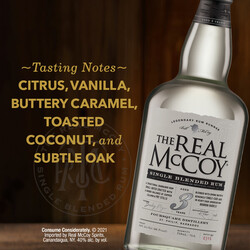 The Real McCoy 3Yr PDP Image - Tasting Note