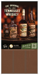 Nelson's Green Brier TN Whiskey Case Card
