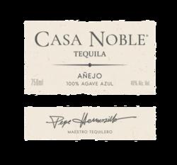 Casa Noble Anejo 750ml Front Label - MOCKUP
