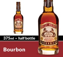 Belle Meade Bourbon Whiskey 375ml Bottle COPHI