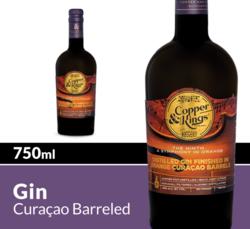Copper & Kings The Ninth, A Symphony In Orange Distilled Gin 750 mL Bottle COPHI