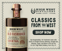 High West BFC Rectangle Digital Banner - Shop Now CTA – 300x250 - For Online Use Only - Not for print or paid media