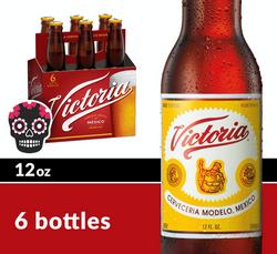 Victoria 12oz Bottle 6pk Halloween Icon COPHI - Temporary Image