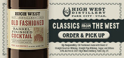 High West BFC Large Digital Banner - Order & Pickup CTA – 320x150 - For Online Use Only - Not for print or paid media